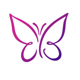 Butterfly Logo Template,vector Illustration