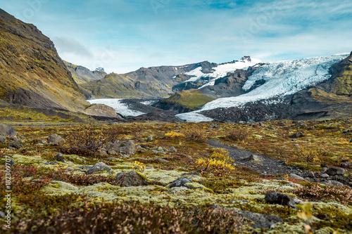 Foto op Canvas Pool Glacier in Iceland