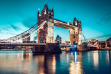 The Tower Bridge in London - 182310707