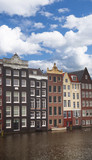 Traditional old buildings in Amsterdam - 182315372