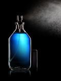 Spraying perfume bottle - 182316199