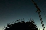 Cantiere edile al crepuscolo - 182319966