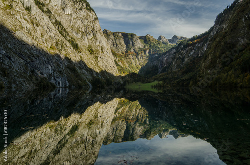 Foto op Canvas Zwart Obersee