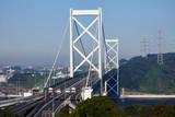 門司から望む関門橋