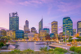 Downtown Perth skyline in Australia - 182339751