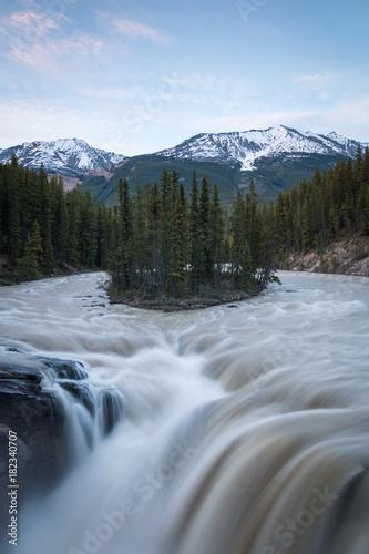 Keuken foto achterwand Canada sunwapta falls