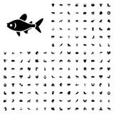 Fish icon illustration. animals icon set for web and mobile. - 182351332
