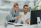 team working in middle east office - 182353999