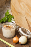 lard with render pork fat cubes greaves - traditional food - 182368592