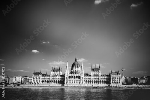 Foto op Canvas Boedapest Hungarian parliament. Historic building in Budapest