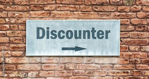 Schild 225 - Discounter