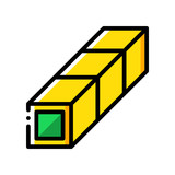 3D GUI - Beam wire - (Yellow) - 182382770
