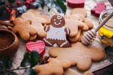 Christmas baking gingerbread honey - 182386794