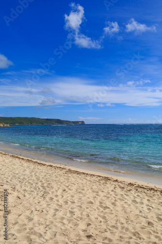 Staande foto Beige An Antiguan Beach
