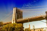 Beautiful view of Brooklyn Bridge - 182390982