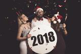 Happy New 2018 Year - 182394922