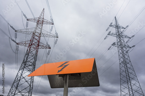 electricity of a power line