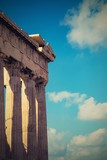 ruins of a acropolis of Ancient Greece - 182402168