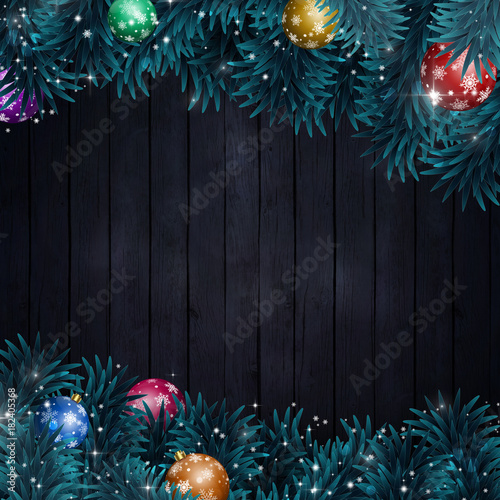 Winter Christmas Decoration