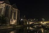 Bridge of Saint Michael at night in Ghent, Belgium - 182411352
