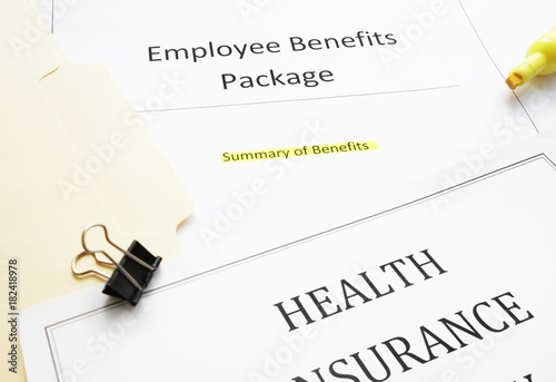 New hire Benefits documents