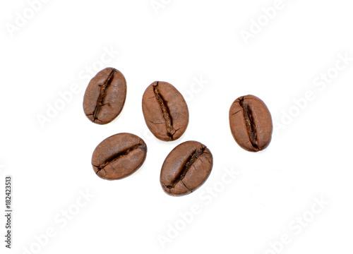 Staande foto Koffiebonen ziarna kawy