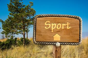 Schild 249 - Sport