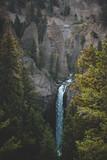 Yellowstone waterfalls summer