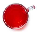 Cup of red tea - 182435199
