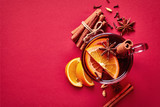 Hot mulled wine - 182435347