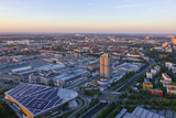 Look at Munich and the BMW Headquarters