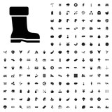 Boot icon illustration . agriculture icons set for web and mobile. - 182457911