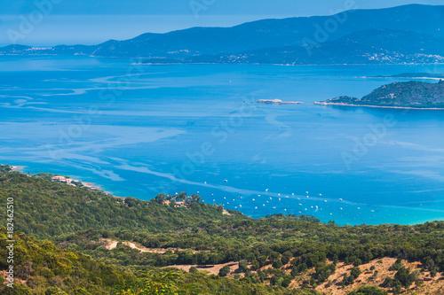 French island Corsica. Piana region