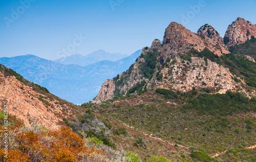 South region of Corsica island, France