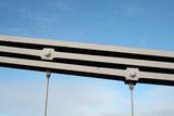 Closeup of Wrought Iron Beam, Clifton Suspension Bridge, Bristol - 182465572