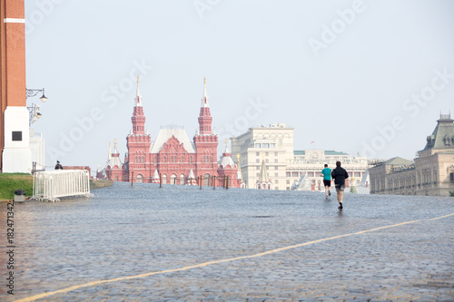 Fotobehang Moskou Red square moscow
