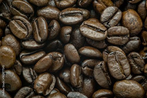 Staande foto Koffiebonen Kaffeebohnen