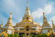 Phra Maha Chedi Chai Mongkol is one of the largest pagoda in Thailand. It is located on the grounds of the Wat Pha Namthip Thep Prasit Vararam, a temple in Roi Et province in Thailand.