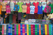 The texture of traditional Burmese cloth one of the famous traditional souvenir in Myanmar.