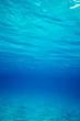 Underwater blue ocean background in sea