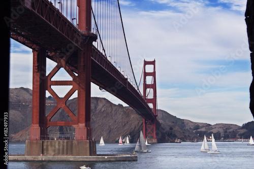 Plexiglas San Francisco Golden Gate Bridge