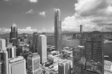 Aerial view of Hong Kong city - 182503734