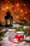 Christmas winter still life
