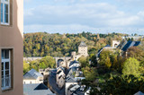 Aerial View of Luxembourg City, Luxembourg
