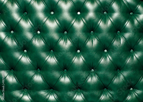 Green texture of artificial leather. - 182541558