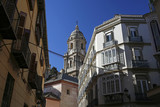 architecture of Malaga old town with cathedral, Andalusia, Costa del Sol, Spain