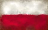 flagge von polen - 182548906