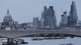 Cars and Pedestrians Moving Through the Waterloo Bridge - 182560301