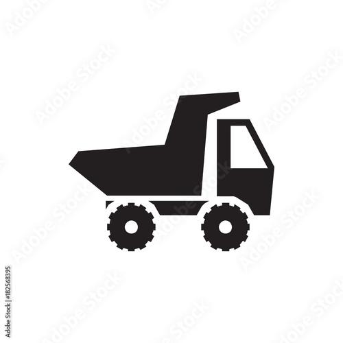 Fotobehang Auto toy car icon illustration