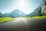 Mountain road, Jungfrau region, Bernese Oberland, Switzerland - 182570783